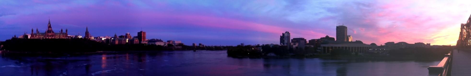 Ottawa at sunset